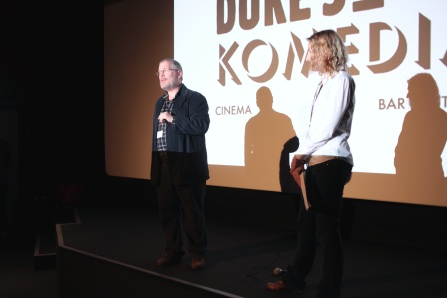 Frank Gray and Becky Clarke introduce the Screening Days