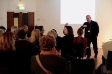 Frank Gray introduces Film Hub South East at Lighthouse, Brighton