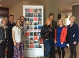 Rebecca Marshall (far right) with fellow participants at Galway Film Fleadh
