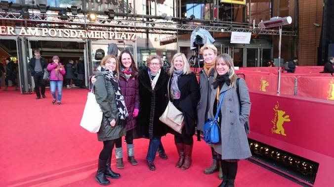 Film Hub South East gang at Berlin Film Festival