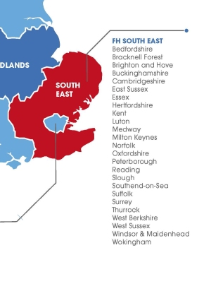 BFI South East and East new regions