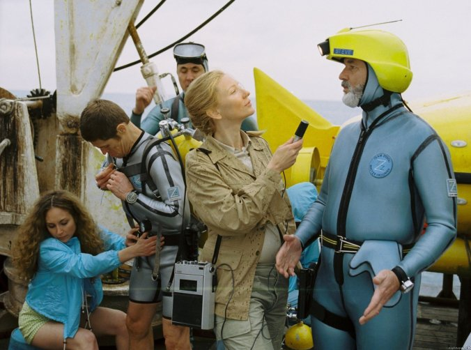 Still from the film The Life Aquatic with Steve Zissou
