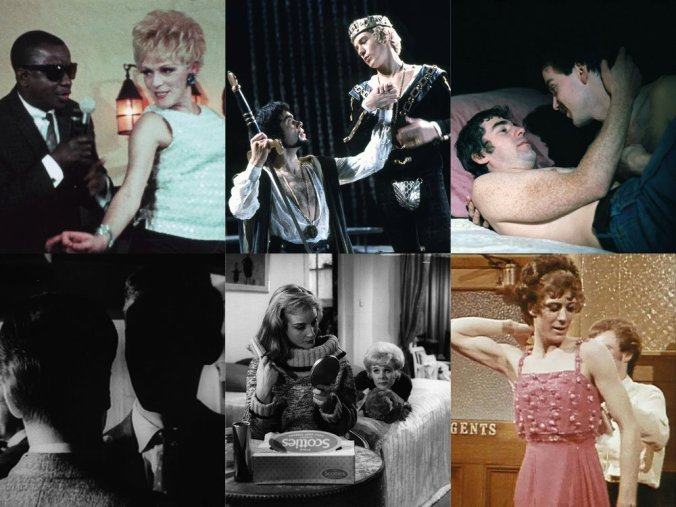 Mosaic of LGBT film stills